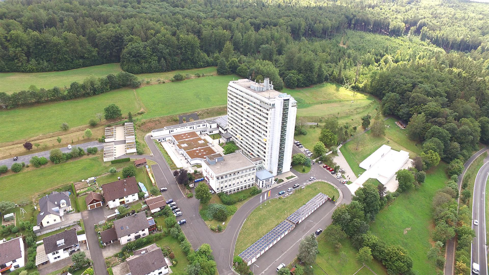 Luftaufnahme Seniorenheim