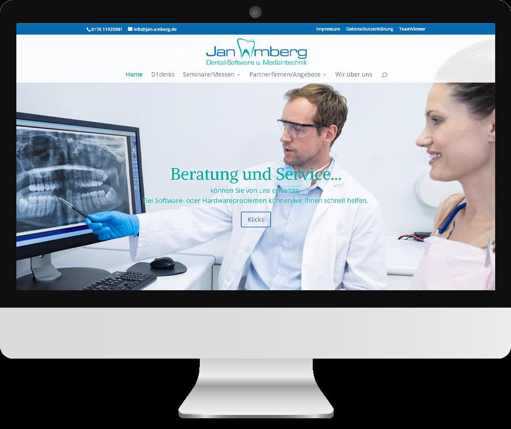 Webseite Jan Amberg