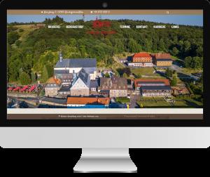 Webseite Kloster Kreuzberg