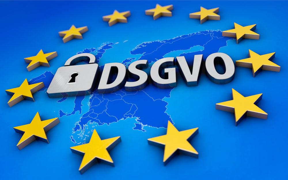 Zugang geschützter Bereich DSGVO